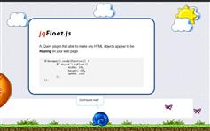 jQuery jqFloat 一个浮动的效果