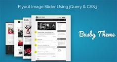 CSS3滑块飞出图片