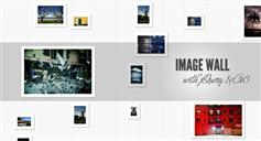 jquery和css3创建图片墙