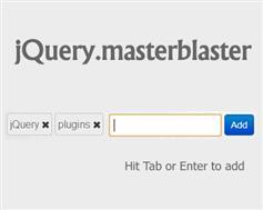 jQuery MasterBlaster – 回車生成標簽可刪除