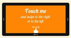 jQuery移动端触摸屏幕图片切换_图片左右拖拽滑动