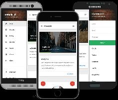 响应式手机网站模板_手机html5模板框架UI