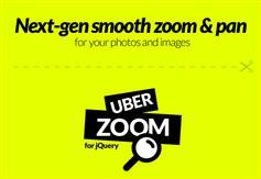 Uber Zoom - jQuery滚动鼠标图片平滑缩放插件