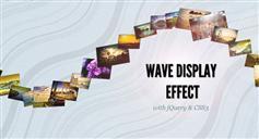 JQUERY图片波浪显示效果,点击弹出大图