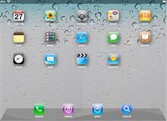 jQuery CSS3模拟ipad界面