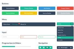 HTML网页美化工具包