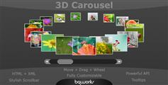 3D Carousel  旋转木马图片效果