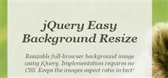 jQuery简单背景调整