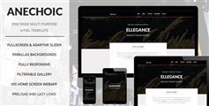 Anechoic  - 基于Bootstrap框架HTML5&CSS3单页多用途滚动视差动画网站模板