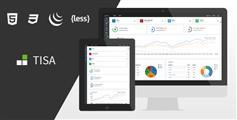 Tisa - HTML5管理模板8种风格切换_Bootstrap3管理系统HTML