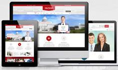 Politicize  6种风格HTML5响应设计企业模板