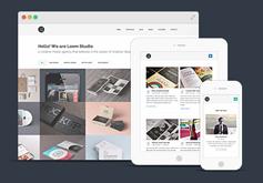 Loom  多用途响应设计html5网页模版