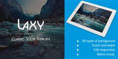 Laxy  Responsive Coming Soon Template 6种风格