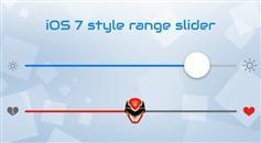 Powerange – jquery iOS 7风格范围滑动选择插件