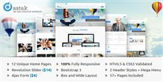 Dastak—多功能业务HTML Web企业模板