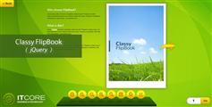 FlipBook  漂亮的jQuery翻书效果