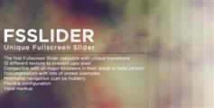 FSSlider  - 自定义全屏背景切换效果插件jQuery格子动画效果