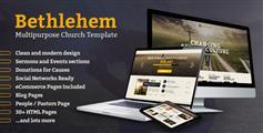 Bethlehem  非营利性组织Bootstrap 3 HTML5模板