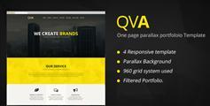 QVA  html5响应式Bootstrap页面模板