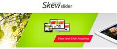 jQuery图片切换插件幻灯片带动画jQuery点击圆切换图片滑块插件 - SkewSlider