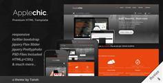 Applechic响应HTML企业模板