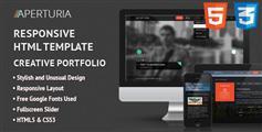 Aperturia响应摄影师HTML模板