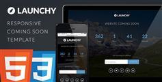 Launchy  网站正在建设中模板
