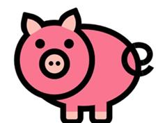 CSS3制作的可爱小猪