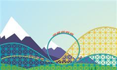 HTML5 SVG过山车动画特效