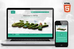 ONYX - 單頁面響應HTML5模板_Bootstrap單頁面滾動視差動畫模板HTML