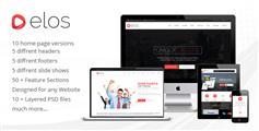 elos - 响应的多用途HTML5模板