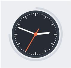 CSS3實現圓盤時鐘動畫效果