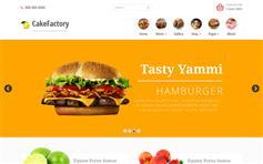 Cakefactory—Bootstrap餐厅主题网站模板