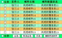 js表格列表全选和反选效果