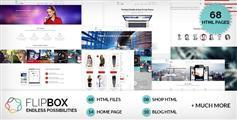 FlipBox - 外国响应HTML5/CSS3模板
