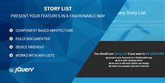 Story List - 打字效果文字一个个显示