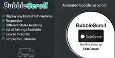 jquery滚动到页脚弹出气泡提示层动画