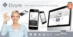 Elvyre - HTML5企业网站模板