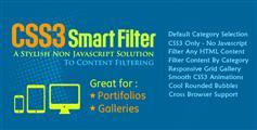 Smart Filter - 纯css3智能过滤筛选图片或div