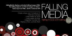 FallingMedia-jQuery下落下降坠落动画插件