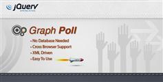 GraphPoll - 很有特色的jQuery调查投票插件