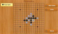 HTML5五子棋游戏可设置难度