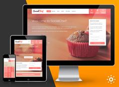 SocialChef - 食谱配方社交网站HTML模板