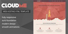 CloudMe - 虚拟主机域名商响应HTML模板