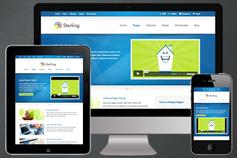 Sterling - HTML5响应式企业网站模板