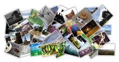 jquery图片堆叠效果点击弹出图片放大显示