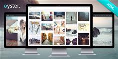 Oyster - 响应式创意摄影图片HTML模板