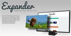 jQuery图片放大插件 图片全屏展示 动画翻转效果  - Expander