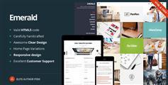 Emerald - 响应图片类网站HTML模板 画廊 摄影展示网站