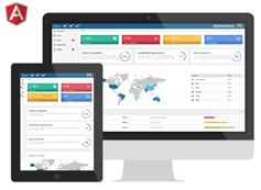Yukon - 兼容手机HTML5和CSS3web应用程序框架后台模板